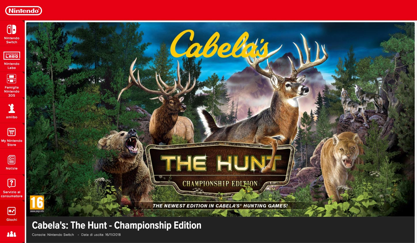 Cabela's The Hunt | Nintendo